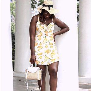 Lemon dress by Socialite